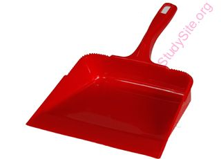 English to English Dictionary - Meaning of Dustpan in