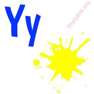 English to English Dictionary - Meaning of Y in English is